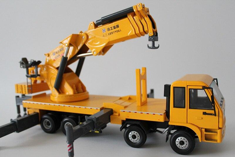 1:35 XCMG SQZ4000A Складная стрела грузовик кран игрушка