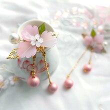 chinese traditional headdress handmade Girl  Blossom Bride Wedding Hair Jewelry
