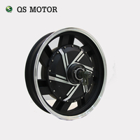 QS Motor 17inch 8000W Electric Motorcycle Kit E Motorcycle Kit Electric Motorcycle Conversion Kit Match With