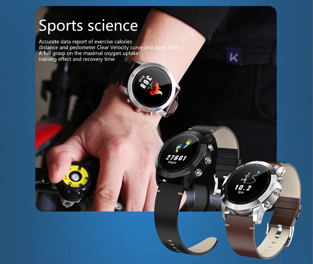 -6 Montre intelligente IP68 étanche Bluetooth 4.2