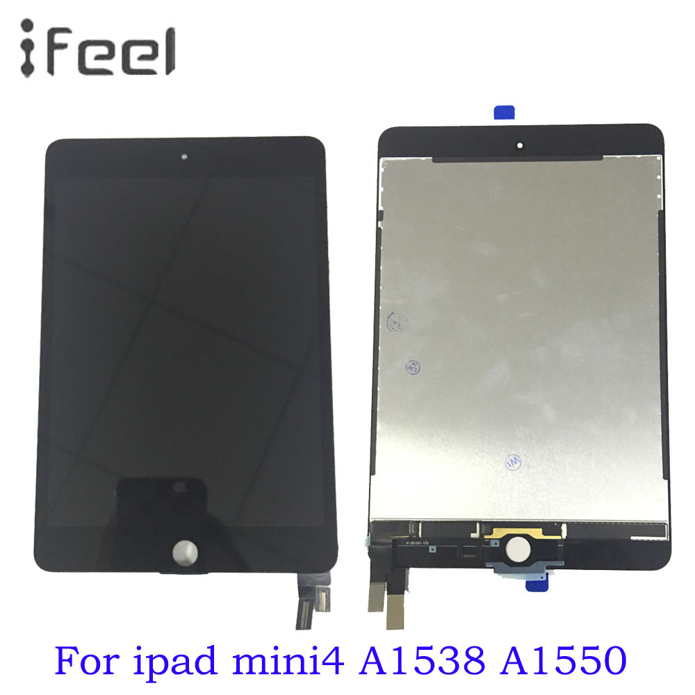 7.9 inch For iPad mini 4 Mini4 A1538 A1550 LCD Display Touch Screen Digitizer Panel Assembly Replacement Part Free Shipping7.9 inch For iPad mini 4 Mini4 A1538 A1550 LCD Display Touch Screen Digitizer Panel Assembly Replacement Part Free Shipping