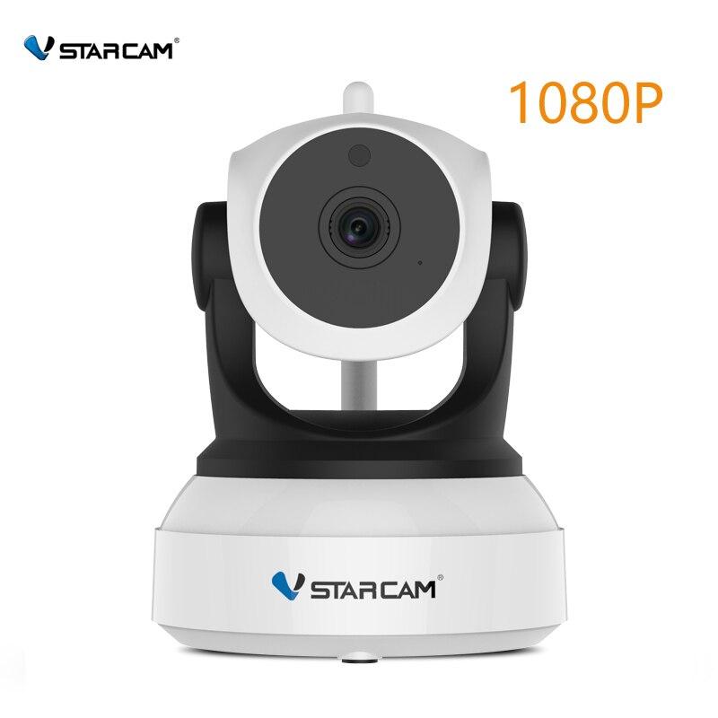 VStarcam C24S HD 1080 P cámara IP de seguridad inalámbrica WifiI IR-Cut de la visión nocturna de la grabación de Audio de la red del bebé de interior monitor