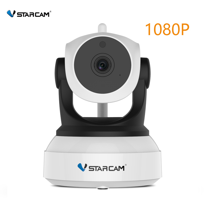 VStarcam c24p 1080 p HD cámara IP de seguridad inalámbrica WifiI IR-Cut visión nocturna Audio grabación red interior Bebé Monitor