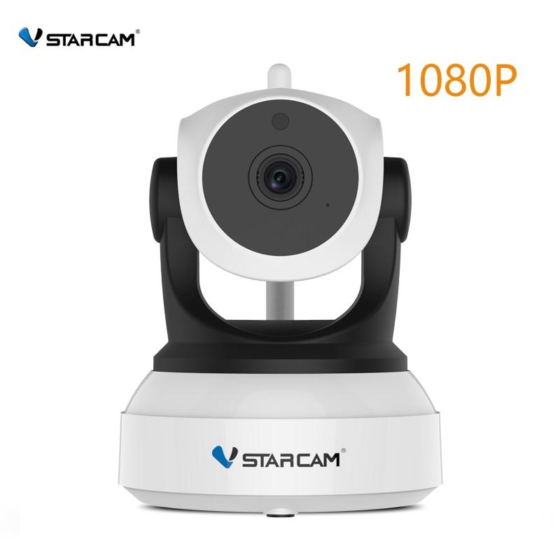 купить VStarcam C24S 1080P HD Wireless Security IP Camera WifiI IR-Cut Night Vision Audio Recording Network Indoor Baby Monitor по цене 3190.44 рублей