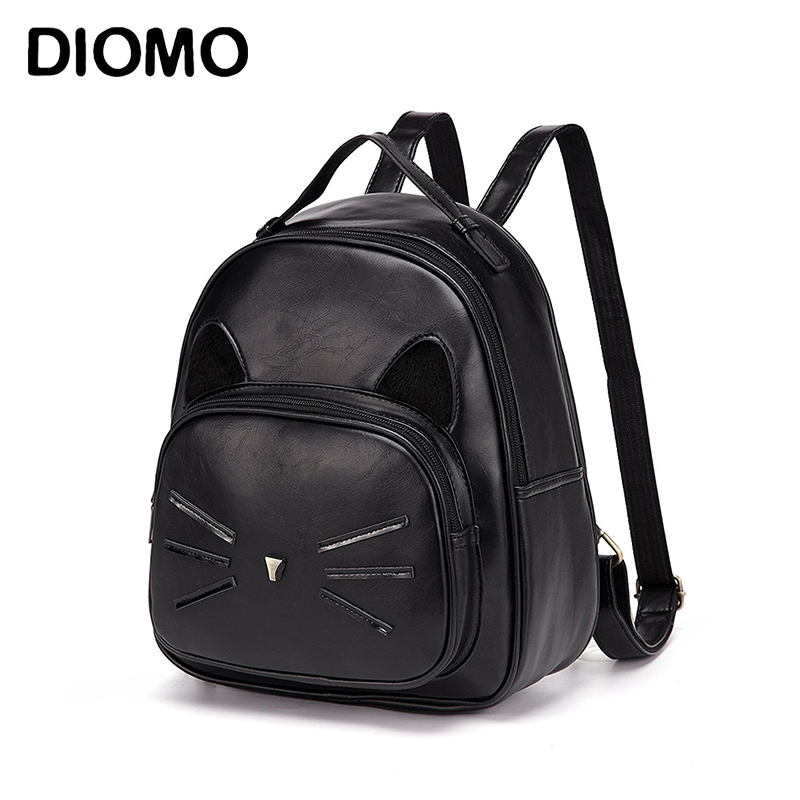 DIOMO Cute Cat Backpacks for Teenage Girls  Casual Day Pack Women Small Backpack Female BagpackDIOMO Cute Cat Backpacks for Teenage Girls  Casual Day Pack Women Small Backpack Female Bagpack