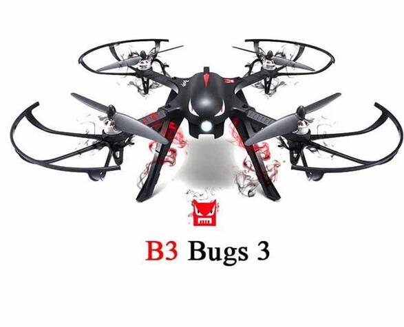 RC Racing font b Drone b font B3 Bugs 3 4CH with HD C4000 or C4018