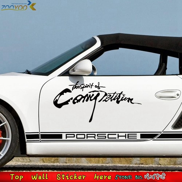 Hot Quotes The Spirit Of Competition Wall Car Sticker Car - How to make vinyl car decals at home