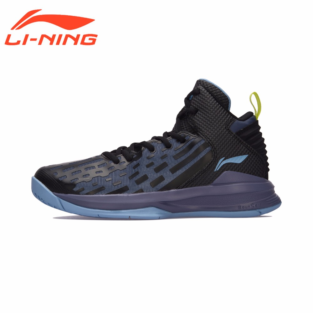 Li-Ning Men DOMINATOR On Court Basketball Shoes Bounse+ Cushion LiNing Sports Shoes TPU Support Sneakers ABPM027 li ning original men sonic v turner player edition basketball shoes li ning cloud cushion sneakers tpu sports shoes abam099