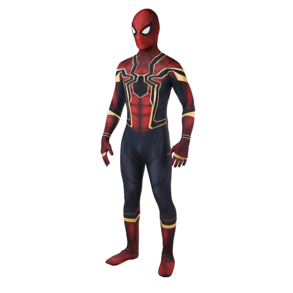 Мстители COS Человек-паук выпускников Косплэй Костюм Аниме полное тело на открытом воздухе колготки Хэллоуин специальной одежды