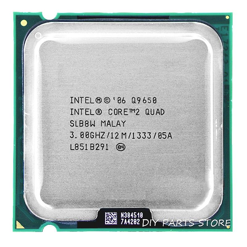 Intel core 2 Quad CPU Q9650 intel core 2 quad-core procesador 3,0 Ghz/12 m/1333 GHz) socket LGA 775