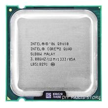 Intel core 2 Quad Процессор Q9650 intel core 2 четырехъядерный процессор 3,0 ГГц/12 м/1333 ГГц) разъем LGA 775