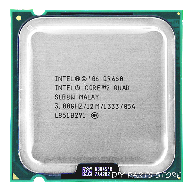 INTEL Core 2 Quad Q9650 intel core 2 quad-core del Processore CPU 3.0 Ghz/12 M/1333 GHz) Socket LGA 775
