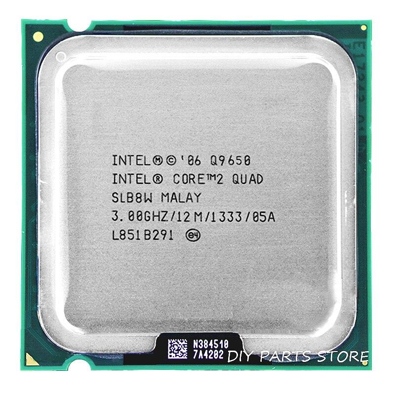 Intel core 2 Quad CPU intel core 2 Q9650 Processador quad-core 3.0 Ghz/12 M/1333 GHz) soquete LGA 775
