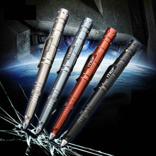 Outdoor self-defense ballpoint pen tungsten steel tactical pen escape broken window tool defense pen female anti-wolf pen