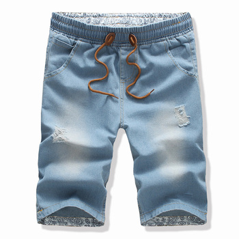 Free shipping!2016new fashion mens short jeans cotton summer style shorts thin breathable denim shorts men jeans 1