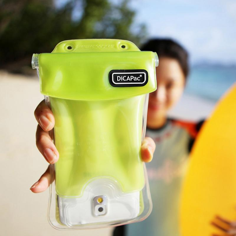 Universal Double-protection Waterproof Bag Floating Case Diving Swimming Phone Bag For iPhone For Huawei 9