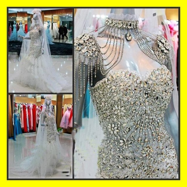e36db3f869 US $340.0 |Gypsy Wedding Dress Dresses Plus Size Guest Beach China Mermaid  Floor Length Court Train Crystal Sweetheart 2015 Free Shipping-in Wedding  ...