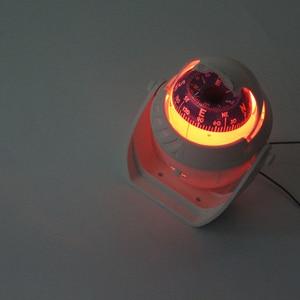 Image 5 - Luz LED de 12V para barco de mar, brújula para barco, vehículo, barco, coche, indicador, blanco y negro