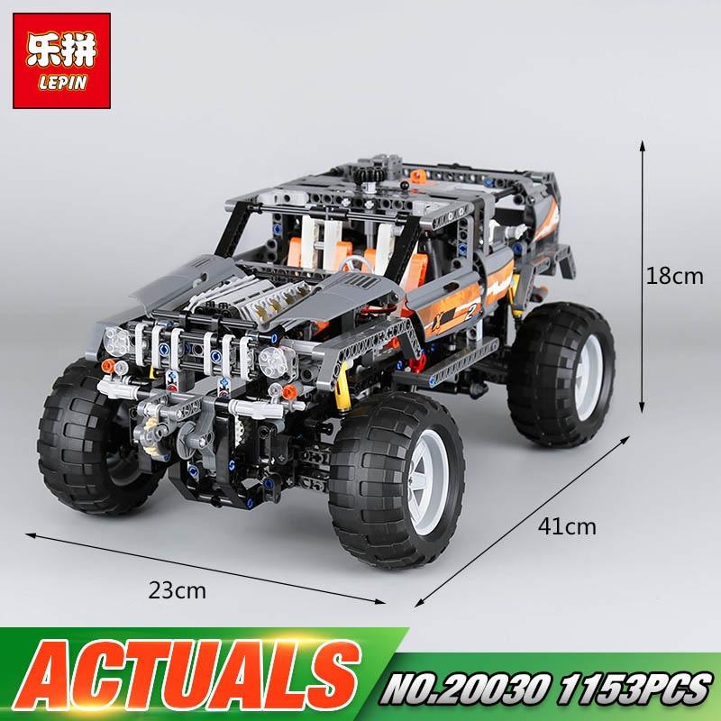 Lepin 20030 1132Pcs Technik Ultimate Off-Roader Cars LegoINGly 8297 Sets Building Nano Block Bricks Toys For boy Gifts forex b016 xw 8297