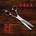 Профессиональный 6 дюймов салон филировочные ножницы из япония сталь 440C парикмахерские парикмахерская ножницы