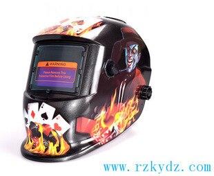 Bear evil tyrant Cards lens for welding machine OR plasma cutter Flame Welding helmet