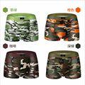New 2016 Modal Fashion Camouflage Boxer Stretch Bulge Pouch Shorts Man Underwear XXL/XXXL Male panties