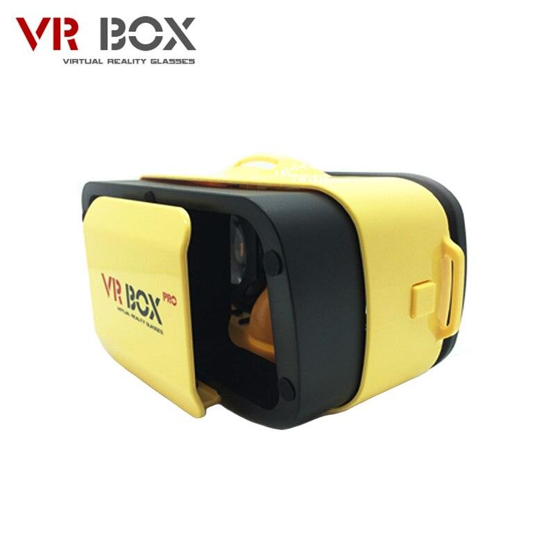 """Vr bucinum VR коробка 3.0 PRO 3d Очки погружения PC + ABS виртуальной реальности VR гарнитура для 4.5-5.5 """"IOS и Android смартфоны"""