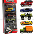 1: 64 Escala mini Aleación Modelo de Coche Juguetes de Los Niños de Coches de Juguete de Aleación Regalo de colección modelo de juguete de Metal Deslizante coche de juguete para niños 5 Unids/lote