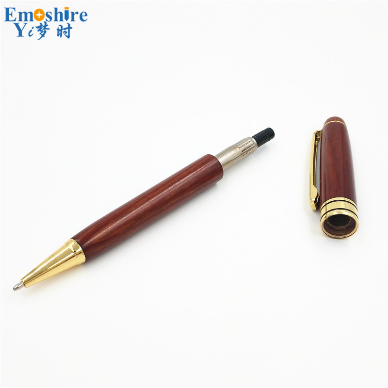 Wood Ballpoint Pen Refill Branded Ball Pens for Special Store Writing Instruments School Office Gift for Student Graduation P196