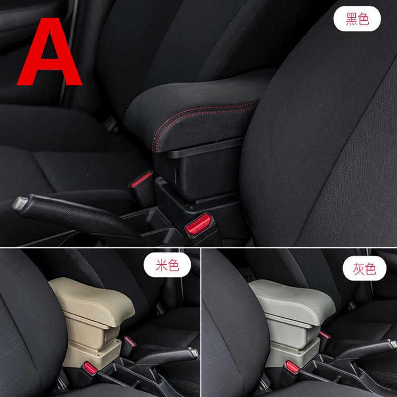 For Geely MK armrest box central Store content Storage box King kong armrest box with cup holder ashtray USB interface