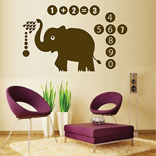 Cute Elephant Wall Quote Wall Decals Vinyl Stickers Home Decor Wall  Decorations For Kids Living Room In Wall Stickers From Home U0026 Garden On  Aliexpress.com ...