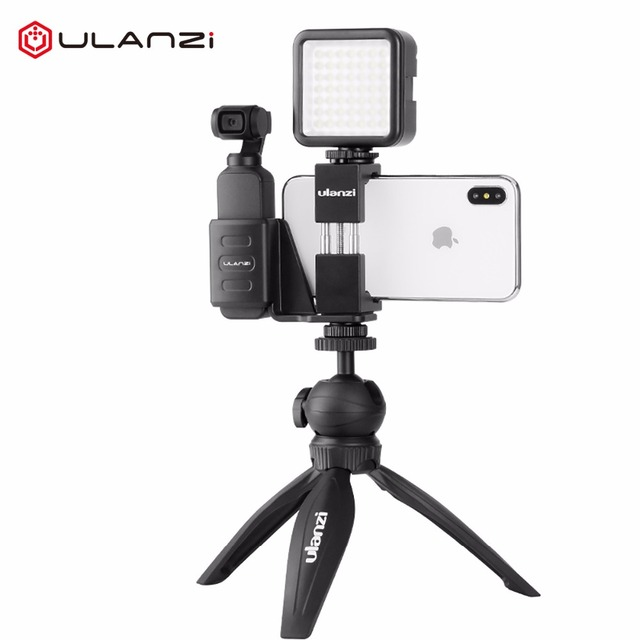 Ulanzi OP 1 OP 13 אוסמו כיס 1 2 חצובה טעינת בסיס Smartphone חצובה הר קבוע Stand סוגר בעל