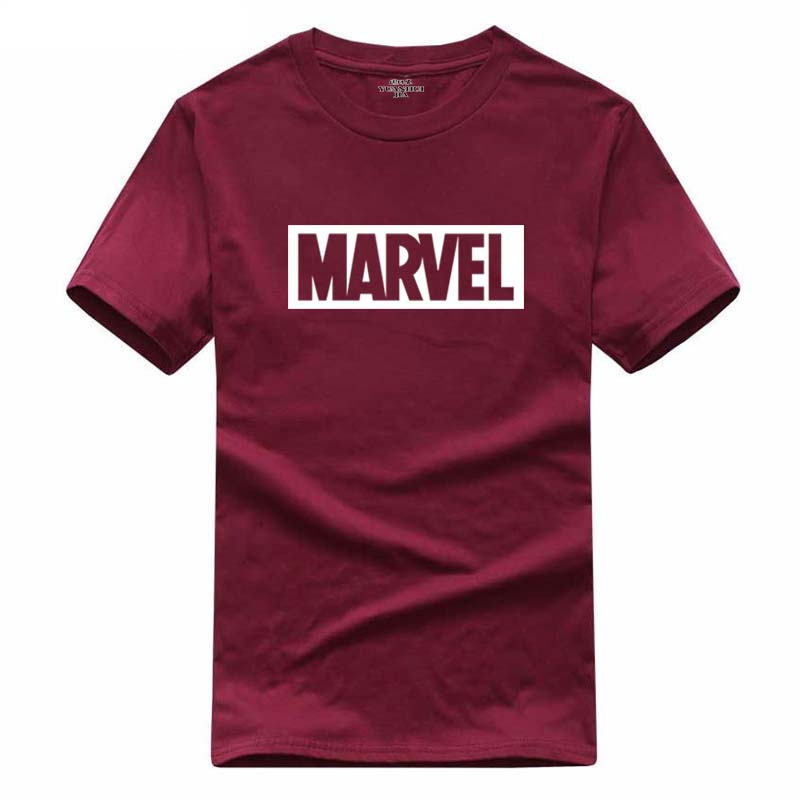 2018 New Fashion MARVEL t-Shirt men cotts