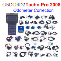 Universal Tacho Pro 2008 Plus Unlock Version Dash Programmer Odometer Mileage Correction Tool Full Cables Adapters