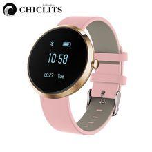 Bluetooth Smart Браслет Heart Rate крови Давление Monitor Группа Smartband часы для Android алкоголя фитнес-трекер