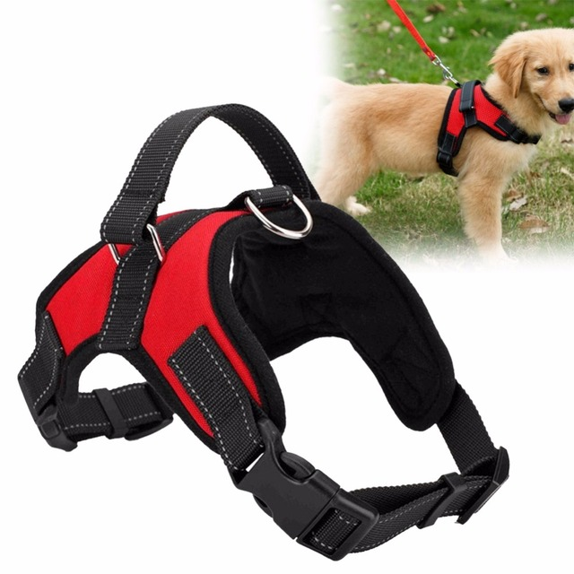 Adjustable Pet Puppy Large Dog Harness for Small Medium Large Dogs Animals Pet Walking Hand Strap Dog Supplies Dropshipping 2
