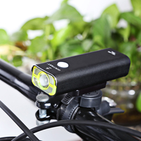 GACIRON USB Rechargeable Waterproof Bike Front Handlebar Flashlight Torch Headlight Cycling LED Light Bicycle Accessories