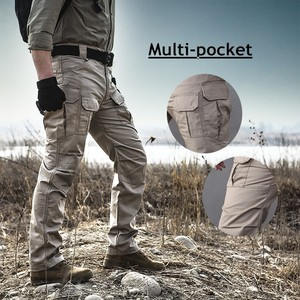 Image 2 - Pantalones tácticos elásticos de camuflaje para hombre, pantalones a cuadros impermeables, resistentes al desgaste, transpirables, pantalón militar para exteriores
