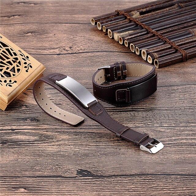 Купить браслет мужской из нержавеющей стали с пряжкой регулируемый картинки