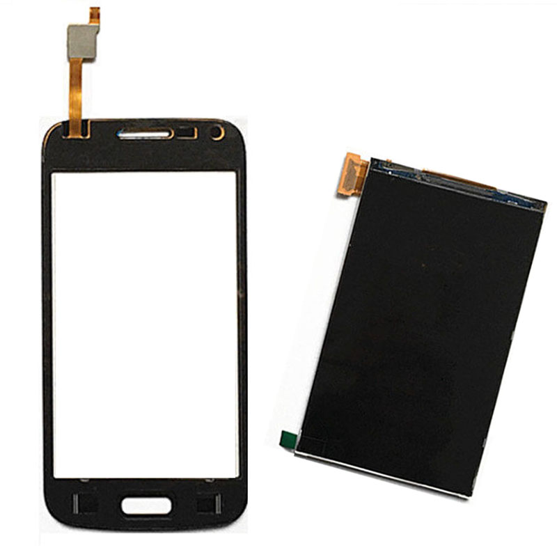 Black For SAMSUNG GALAXY Core Plus SM-G350E G350E Duos Touch Screen Digitizer Sensor Glass + LCD Display Screen Panel Monitor