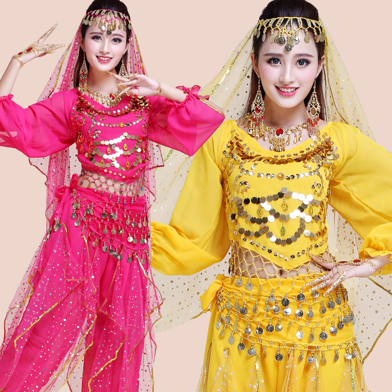 Pcs Set Performance Adult Belly Dance Costume Bollywood Gypsy Costumes Women Belly Dance India Egypt Dancing Dresses Dnacewear