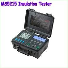 1 шт. Megometro MS5215 Высокое Напряжение Цифровой Тестер Изоляции Мегомметром 5000 В ма, температура (-10-70C)