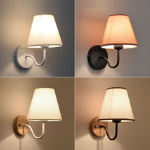 The meter of the modern minimalist living room wall lamp bedroom bedside balcony aisle cloth