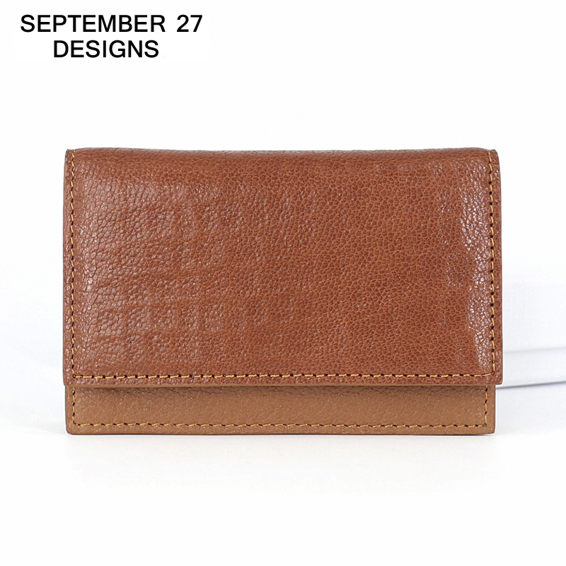 Business Card Holder Top Cowhide leather fashion Men Mini wallet Women Small Purse Credit Card Case Name/ID/bank Card Holders fashion genuine leather men card holder cow leather card id holders business bank card holder minimalist wallet for credit cards