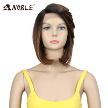 Noble Hair Synthetic Lace Front Wig High Temperature 12 Inch