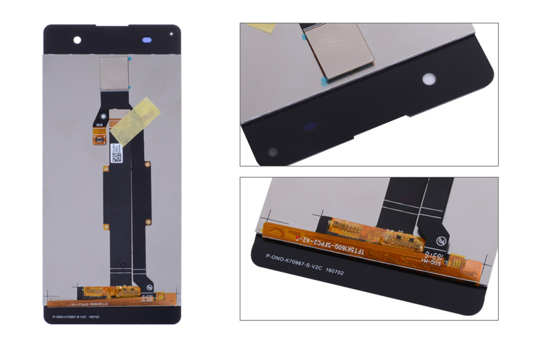 5.0'' ORIGINAL LCD For SONY Xperia XA Display Touch Screen With Frame F3111 F3112 F3116 LCD For SONY Xperia XA LCD Replacement (3)