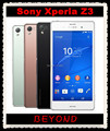 """Sony Xperia Z3 Оригинальный Разблокирована GSM 3 Г и 4 Г Android Четырехъядерный процессор 3 ГБ RAM D6603 5.2 """"20.7MP WIFI GPS 16 ГБ Dropshipping"""