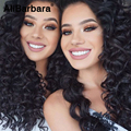 Cabelo Virgem malaio Onda Profunda 4 Bundles Malásia Profunda Curly Weave Do Cabelo Humano