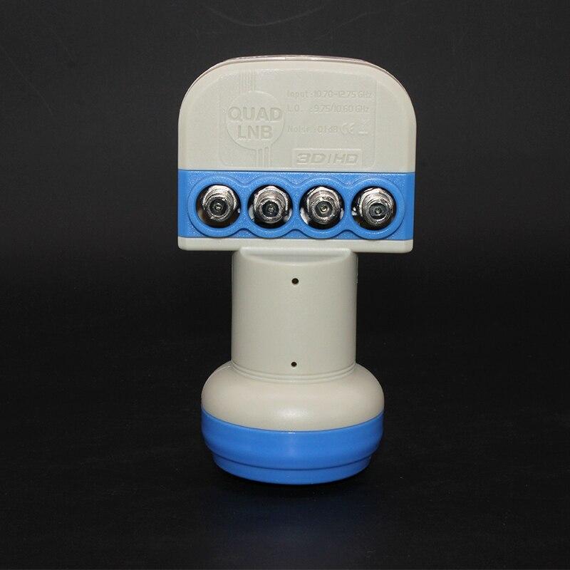 STAR COM Universal QUAD LNB Untuk Penerima TV Satelit KU BAND LNB - Audio dan video rumah - Foto 6