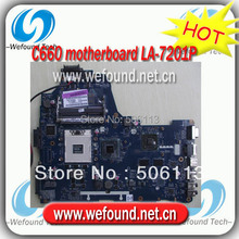 Hot! laptop for toshiba C660 motherboard K000124390 LA-7201P